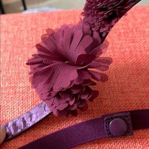 Accessories - Fun purple thin belt
